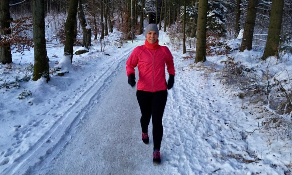 Vinterlöpning i Skrylle