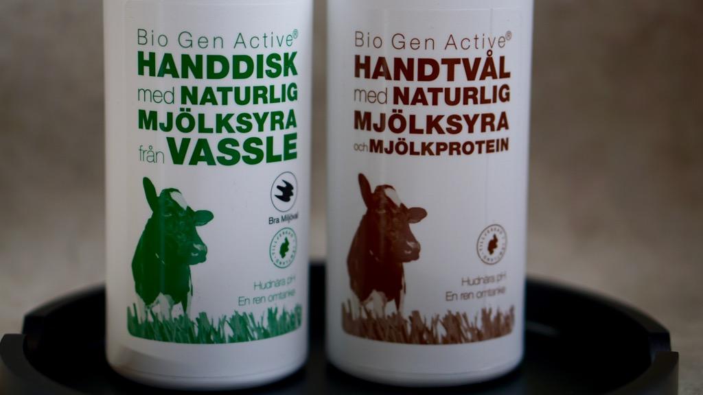 Biogen Active handtvål och diskmedel