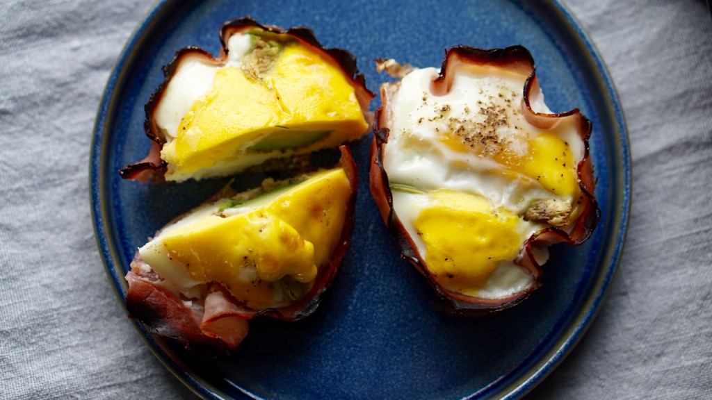Bakade ägg